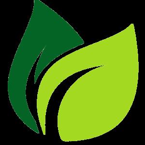 leaf image depicting 100% natural product.